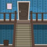 Retro Indoor stock illustration
