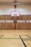 Retro indoor gymnasium Royalty Free Stock Photos