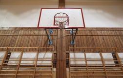 Retro indoor hoop Stock Photo
