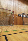 Retro indoor soccer goal Royalty Free Stock Photography