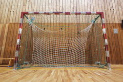 Retro indoor soccer goal Stock Photography