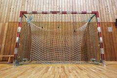 Retro indoor soccer goal Stock Photography