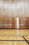 Retro indoor sports gymnasium Stock Photo