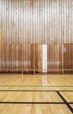 Retro indoor sports gymnasium Stock Photo