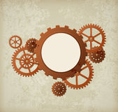 Retro industrial background Royalty Free Stock Image