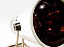Retro - infrarode gezondheidslamp stock afbeelding