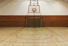 Retro- Innenturnhalle Lizenzfreies Stockbild