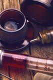Retro installazione medica immagine stock libera da diritti