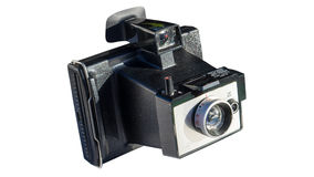 Retro instant camera Royalty Free Stock Image