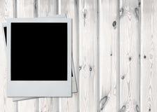 Retro instant photo frames Royalty Free Stock Photo