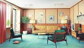 Retro interior Royalty Free Stock Photography