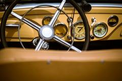 Retro interior vintage car Royalty Free Stock Image