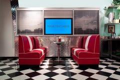 Retro interiore di stile Immagini Stock