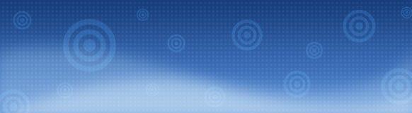 Retro intestazione/insegna di web Fotografie Stock