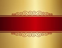 Retro invitation background Stock Photography