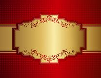 Retro invitation background Royalty Free Stock Photos