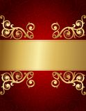 Retro invitation background Stock Images