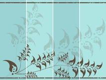 Retro invitation cards Royalty Free Stock Photo