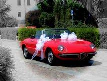 Retro Italiaanse auto royalty-vrije stock afbeeldingen