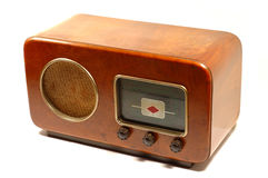 Retro italian radio Stock Images