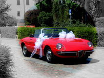 Retro- italienisches Auto Lizenzfreie Stockbilder