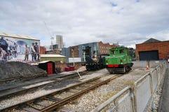 Retro järnväg utrustning Arkivbilder
