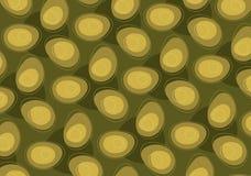 retro jajko abstrakcjonistyczny wzór royalty ilustracja