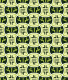 Retro japanese seamless pattern Royalty Free Stock Photography