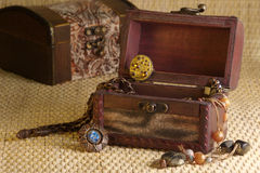Retro jewelry Royalty Free Stock Photo