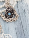 Retro jewelry Stock Images