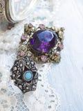 Retro jewelry Stock Photo