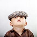 Retro jongen Stock Fotografie