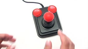 Retro Joystick Stock Photography