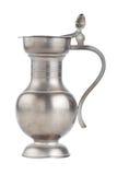 Retro jug, isolated on white Royalty Free Stock Photography