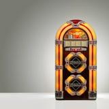 Retro juke box. Juke box with copy space Royalty Free Stock Photography