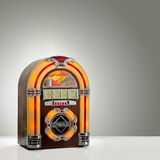 Retro juke box Stock Photography