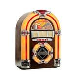 Retro Jukebox isolated. Jukebox classic, retro music record player, isolated Stock Photo