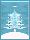 retro jul vektor illustrationer