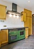 Retro- Küche Stockfotografie