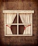 Retro Kabinowy okno Zdjęcia Stock
