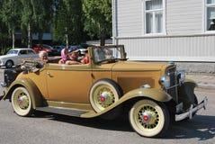 Retro kabriolet fotografia stock