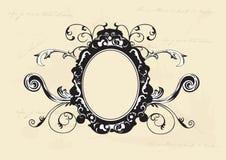 Retro kader royalty-vrije stock afbeelding