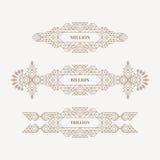 Retro Kader met Plaats voor Tekst Uitstekend Decoratieelement Illustratie voor Marketing en Bedrijfspresentatie Het ontwerp van d royalty-vrije illustratie
