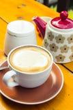 Retro kaffe Arkivbild
