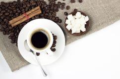 Retro kaffe Royaltyfri Bild