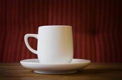 Retro kaffe kuper Fotografering för Bildbyråer