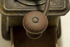 retro kaffegrinder Fotografering för Bildbyråer