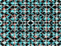 Retro kaleidoscope pattern Stock Image