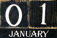 Retro - Kalender Stock Foto