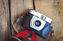 Retro Kamera stockfotografie